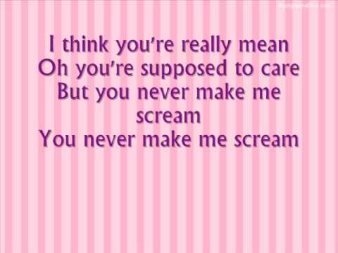 Lily Allen - Not Fair - With Lyrics