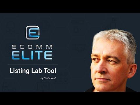 Ecomm Elite - Listing Lab - List Assist Tool