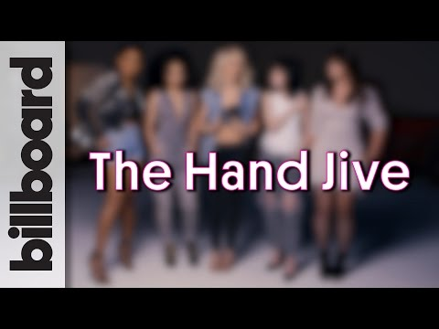 Julianne Hough, Vanessa Hudgens & Grease Live: The New Hand Jive!
