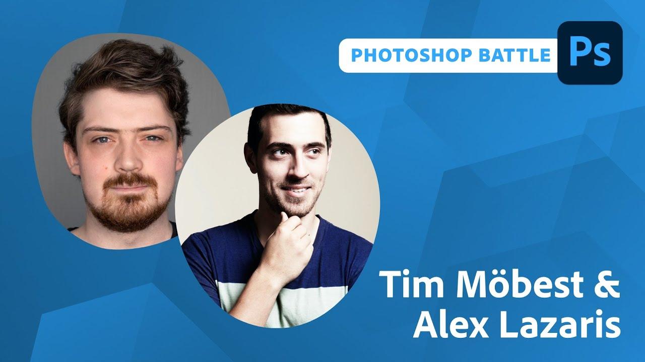 Interactive Photoshop Battles with Alex Lazaris and Tim Möbest
