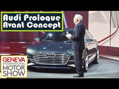 Audi Prologue Avant Concept, live photos at 2015 Geneva Motor Show