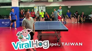 Competitive Table Tennis Matches from All Over the World || ViralHog