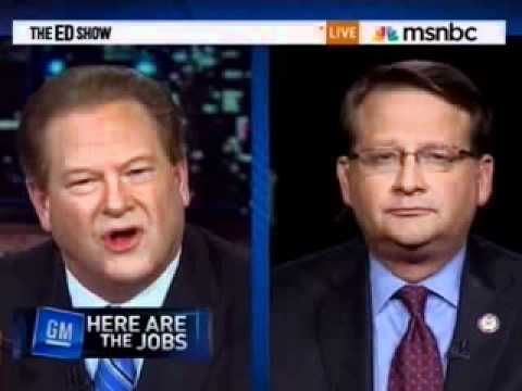 Representative Gary Peters on MSNBC, May 11, 2011