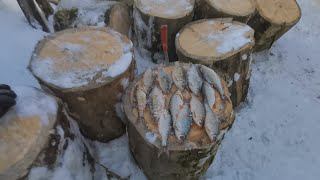 Бомбическая Зимняя Рыбалка На Мормышку!!!