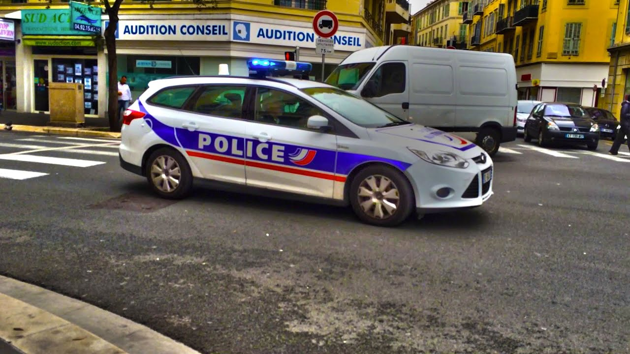 french police car responding police nationale en intervention youtube. Black Bedroom Furniture Sets. Home Design Ideas