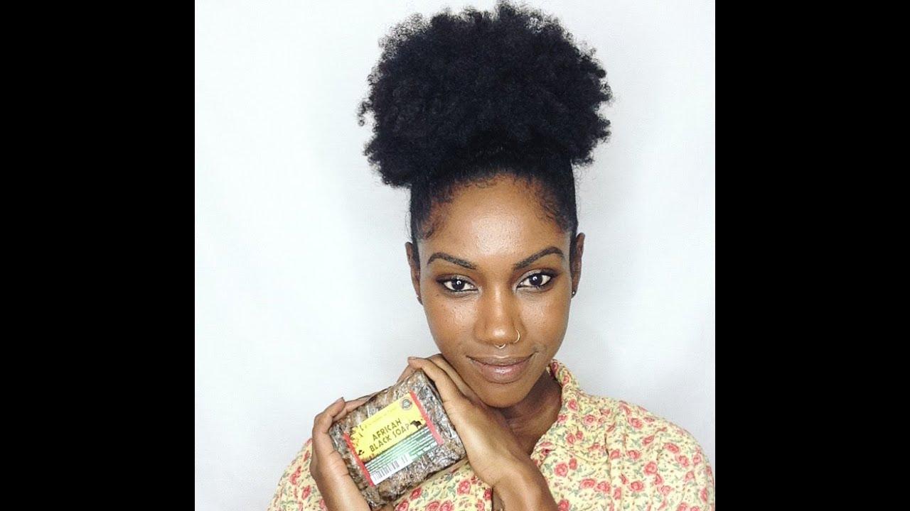 Edge Control for Natural Hair 🌻