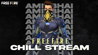 I Am Back || Free Fire Live With AmitBhai || Desi Gamers