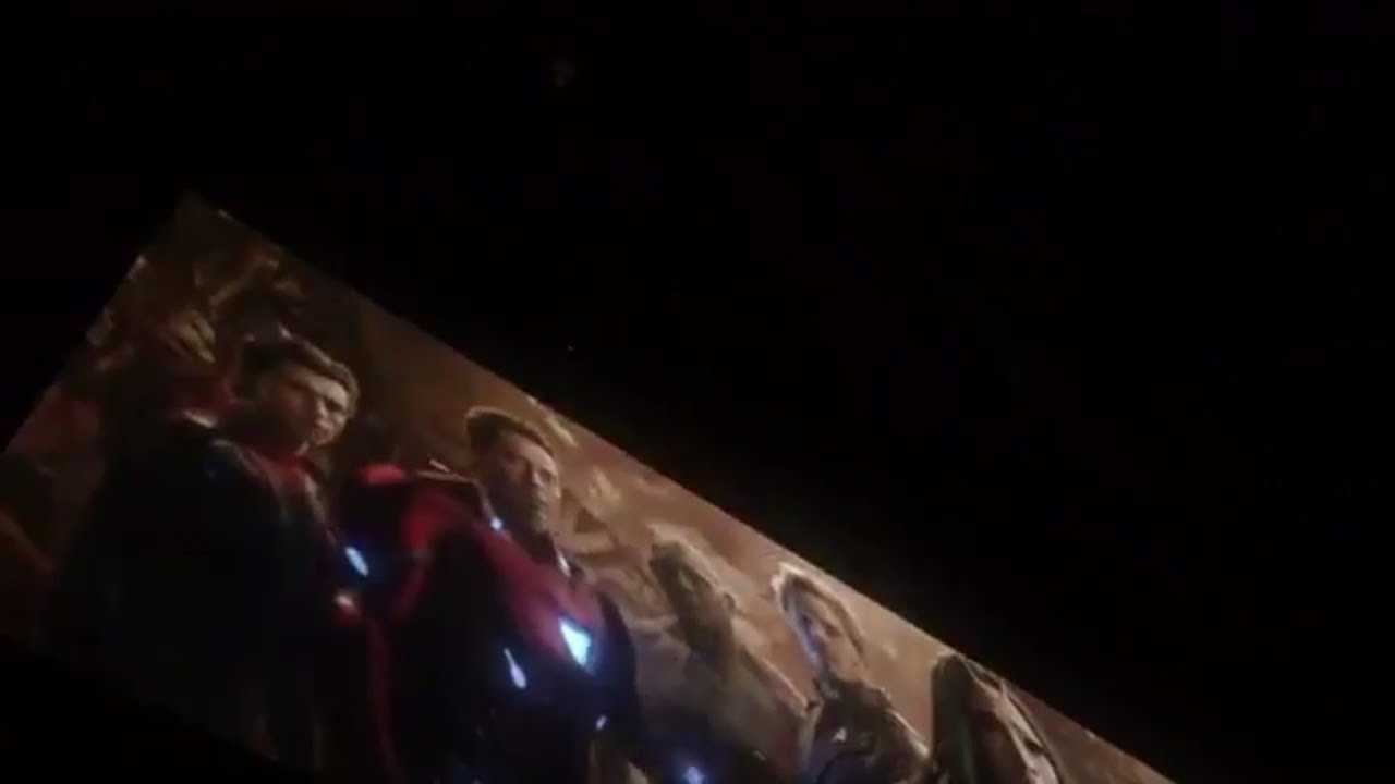AVENGERS INFINITY WAR REAL LEAKED TEASER TRAILER FROM SDCC ...