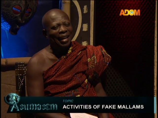 Activities Of Fake Mallams - Asumasem on Adom TV (22-10-18)