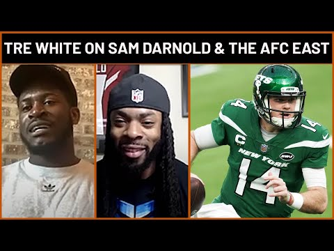 Tre'Davious White on the Sam Darnold Trade & the State of the AFC East | PFF