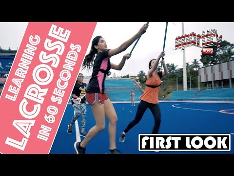 Lacrosse in 60 seconds  MyEG Sportify  Astro SuperSport