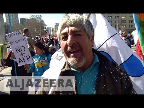 Outrage in Chile over private pensions system
