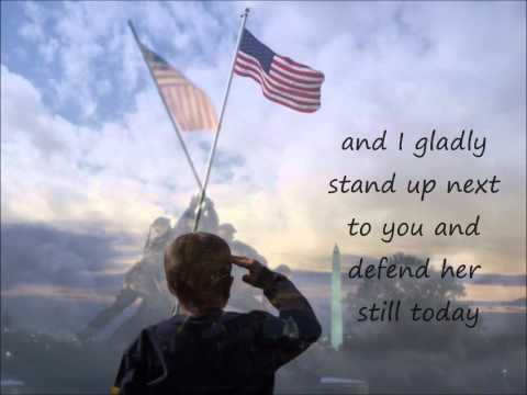 Lee Greenwood- God Bless the U.S.A. lyrics