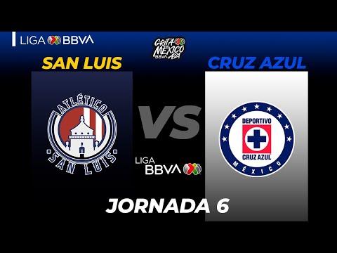 San Luis Cruz Azul Goals And Highlights