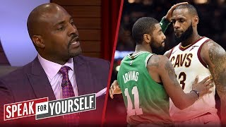Marcellus Wiley has no issue that Kyrie Irving wants to be like LeBron | NBA | SPEAK FOR YOURSELF