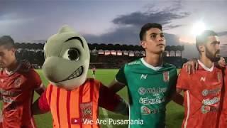 Download lagu Walaupun Kalah Pusamania Dan Pemain Borneo Fc Tetap Menyanyikan Anthem Jayalah Pesut Etam MP3