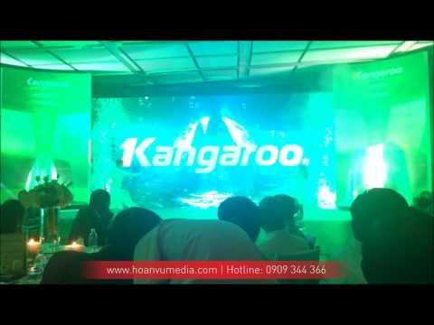 [HoanVuMedia][Kangaroo] Múa tương tác Led - Hội thảo công nghệ máy lọc nước Hydrogen