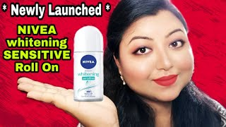 NIVEA Whitening SENSITIVE Roll On Review