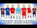 🤝KANE TO LEAVE SPURS!🤝 (Man Utd Man City Chelsea Liverpool Arsenal Barcelona PSG Transfer?)