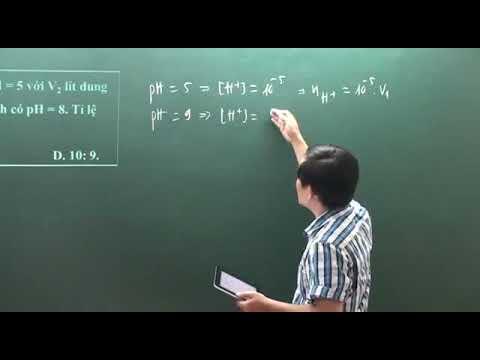 [Hoaphthong.com] – Thầy Phạm Ngọc Sơn hướng dẫn giải bài tập Hóa học