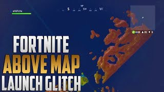 FORTNITE: HOW TO FLY ABOVE THE STORM *LAUNCH GLITCH* IN RETAIL ROW