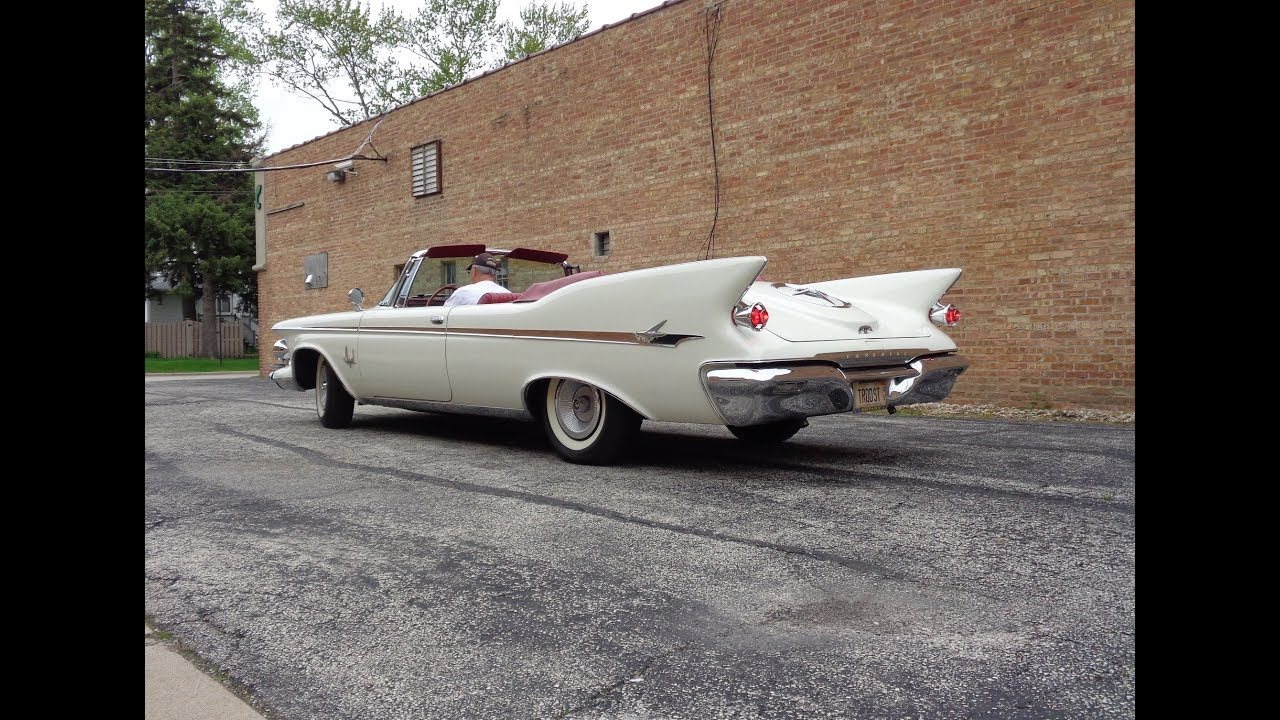 1961 Imperial Crown Convertible In White Engine Sound On My Car Story With Lou Costabile Youtube