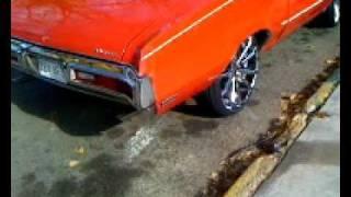 FOR SALE: 1972 Buick Skylark Convertible on 24's