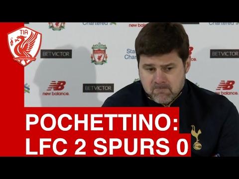 Liverpool 2-0 Tottenham: Mauricio Pochettino's Post-Match Press Conference