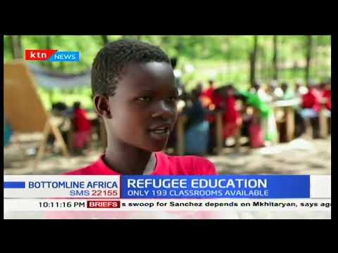 10,000 refugee children flee conflict prone areas: Bottomline Africa