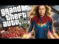 Marvel Studios Captain Marvel MOD W Super Powers GTA 5 PC Mods Gameplay mp3