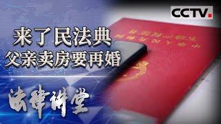 《法律讲堂(生活版)》 20201210 来了民法典·父亲卖房要再婚| CCTV社会与法 - YouTube