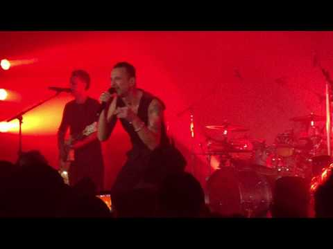 """Depeche Mode secret show 4/26/17 """"Where's the Revolution"""" Masonic Lodge Hollywood Forever Cemetery"""