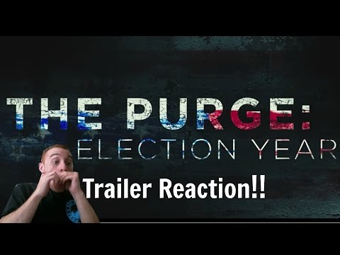 The Purge Election Year Trailer Reaction!!