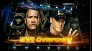 WWE John Cena Vs The Rock Wrestlemania 29 Promo