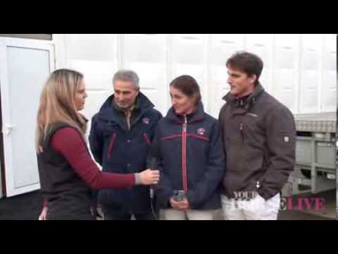 Interview with Michael, Maria and Ferdi Eilberg | Your Horse Live 2013