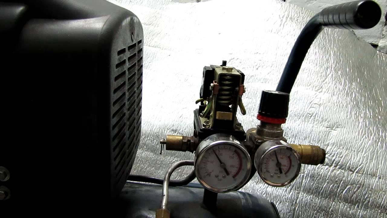 5☼ Обзор воздушного компрессора, настройка автоматики.