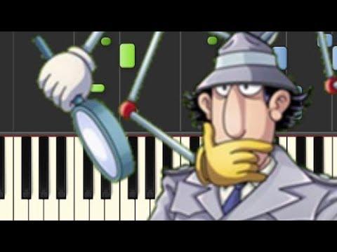 Inspector Gadget (The Go-Go Gadget) - Piano Cover [Synthesia]