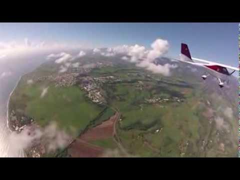 Traversée historique Ile Maurice - Réunion en ULM ! (avion sponsorisé par le ...
