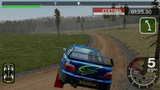 Colin McRae Rally 2005 Plus Gameplay Time Trial Finland (PSP)