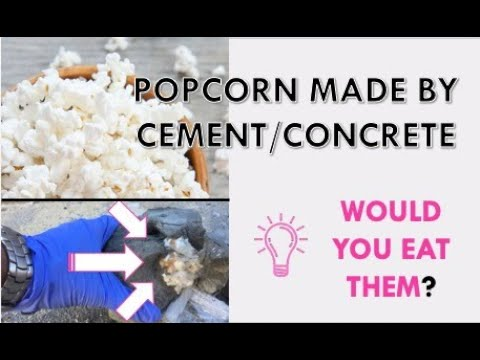 Concrete Pop Corn (Fired in Cement)