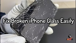 Easiest iPhone Broken Glass Fix – WITH LASERS  Machines