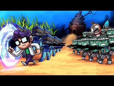 Minecraft   CIVIL WAR: Royal Guard vs Military Army! (Atlantic Tales)