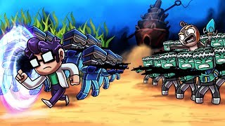 Minecraft | CIVIL WAR: Royal Guard vs Military Army! (Atlantic Tales)
