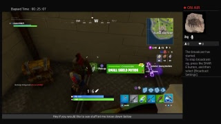 Fortnight ps4 gameplay