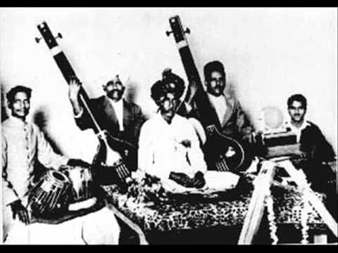 Ustad Abdul Karim Khan: Ugich Ka Kanta - a different 78 RPM recording