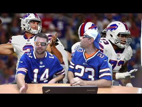 Buffalo Bills Preseason Highlights, Nathan Peterman, Zay Jones, Anquan Boldin - BS3MD