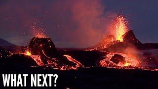 New Vents in the Geldingadalir Volcano in Iceland - News Update