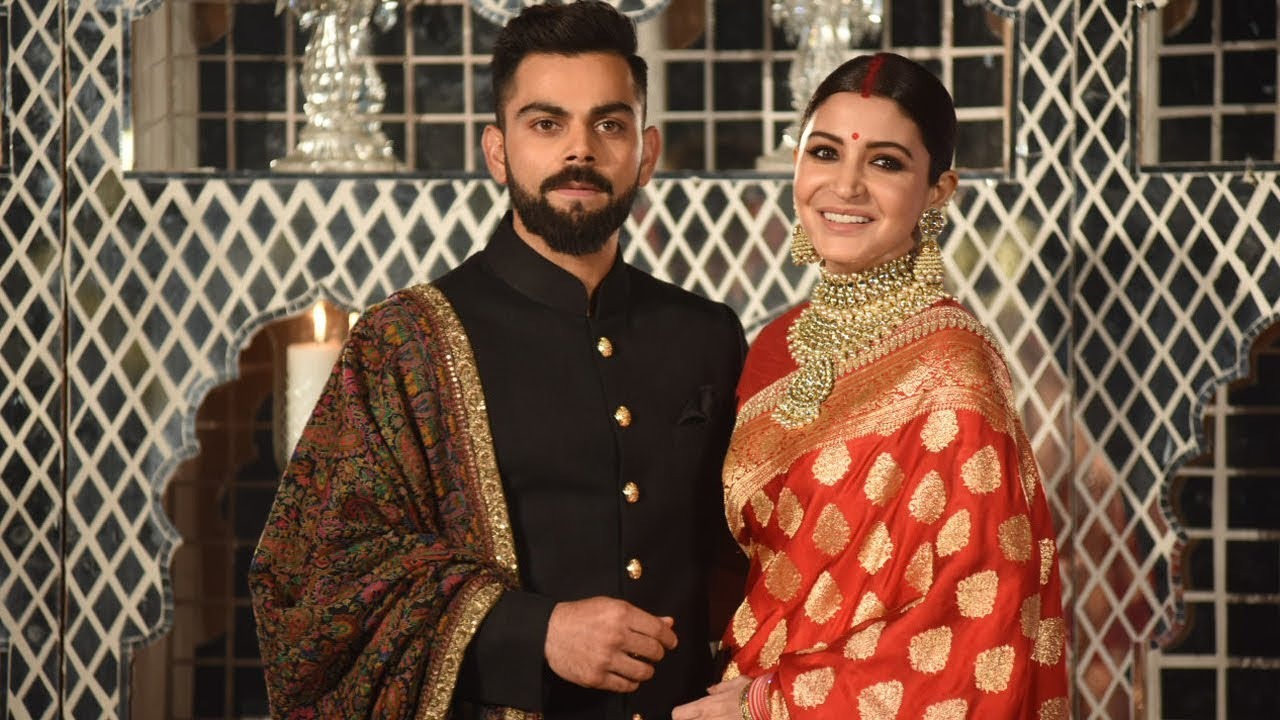 LIVE Virat Anushka WEDDING Reception Video Delhi Inside