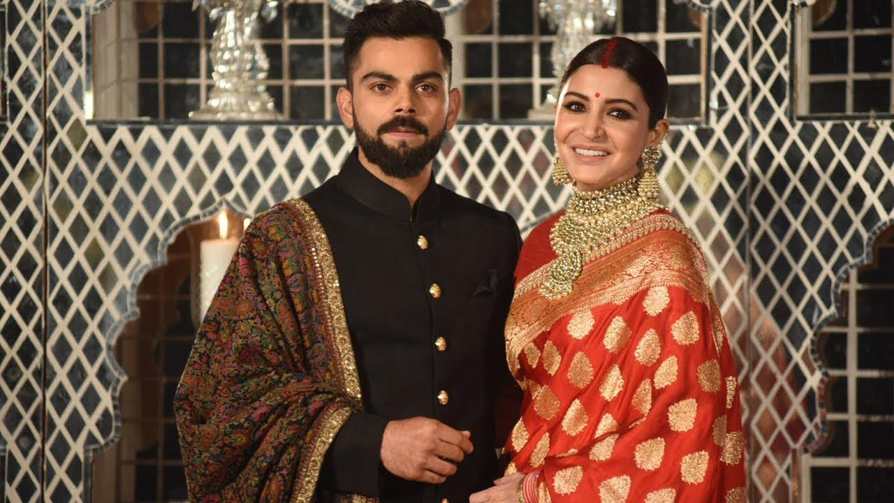 Watch Virat Anushka Marriage Images video