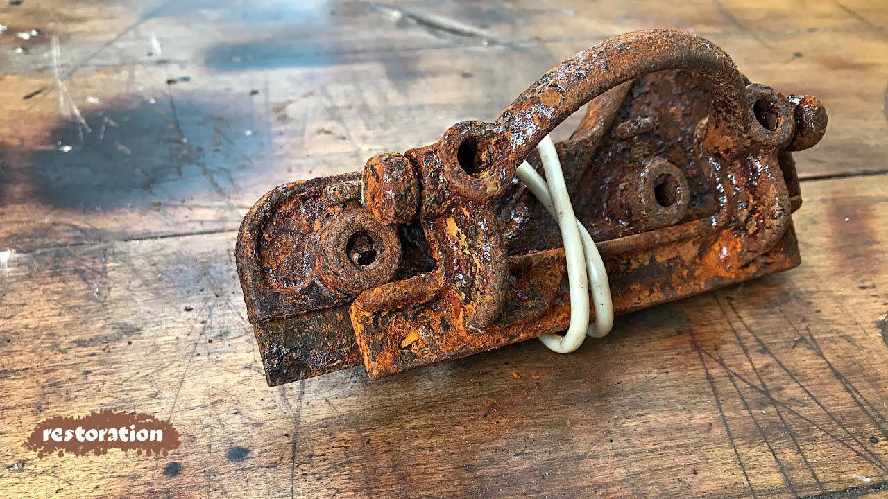 Не выбрасывайте старый...что? Восстановление  забытого инструмента. ASMR video. #Стройхак